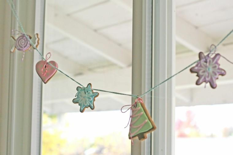 detalles galletas cortinas cordones pinos