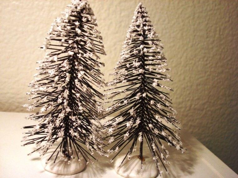 Manualidades para navidad cincuenta ideas originales for Arboles de navidad caseros y originales