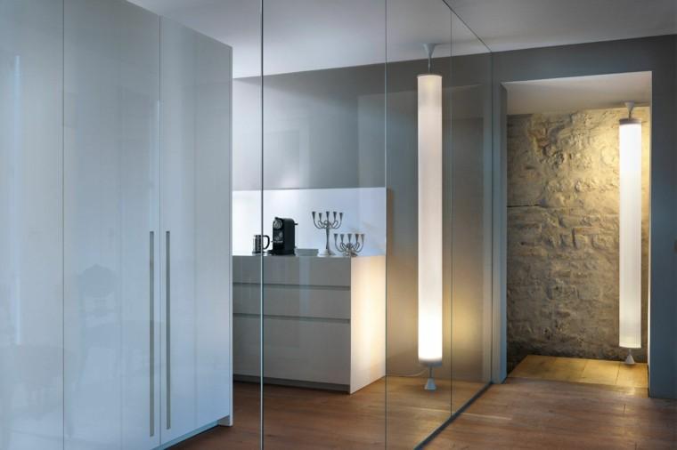 diseño baño estilo minimalista mampara