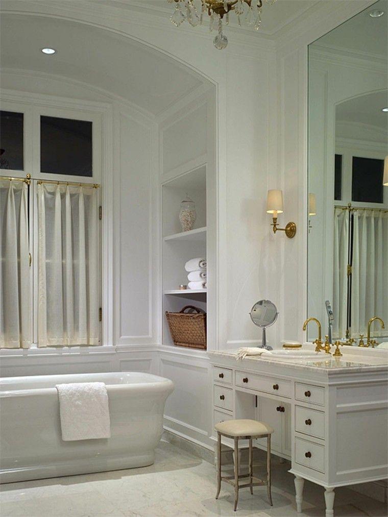 Decorar Mueble Baño Blanco:Decorar baños con muebles de baño vintage