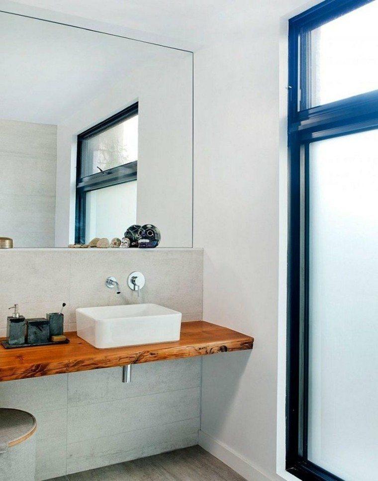 diseño cuarto baño revestimientos cemento