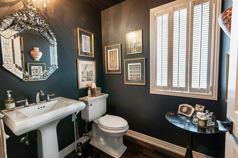 diseño cuarto baño estilo clasico