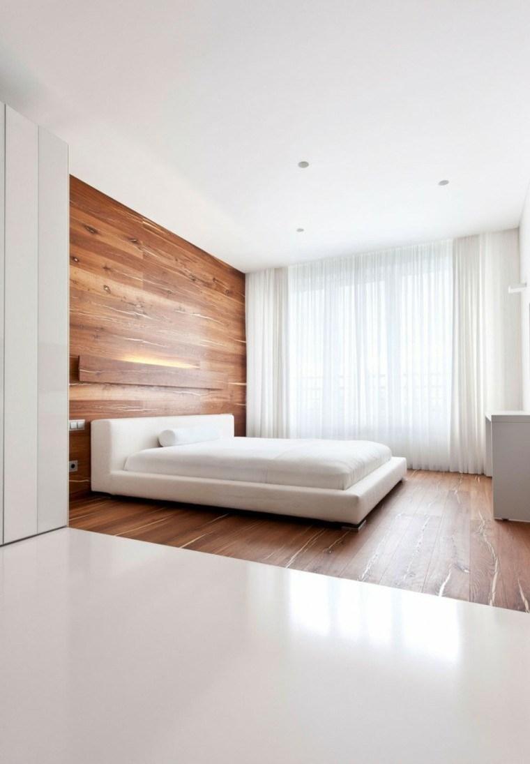 diseño blanco madera suelo pared