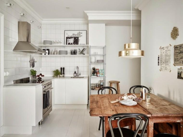 diseño cocina moderna estilo boho