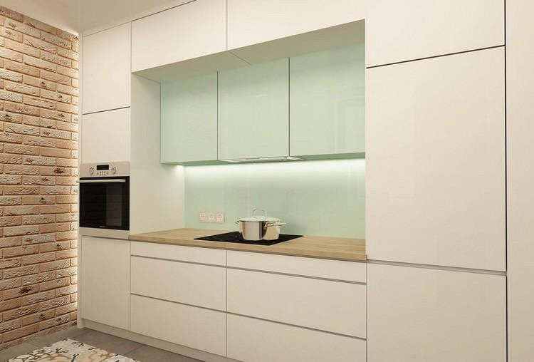 diseño decoracion de cocinas aguamarina palido