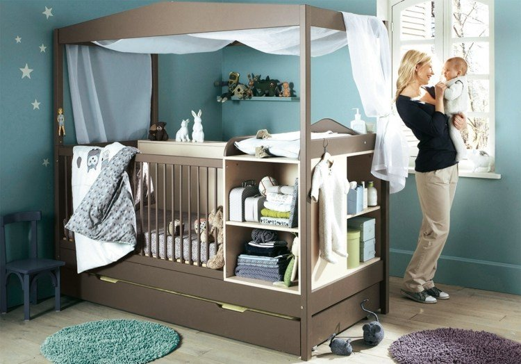 diseo habitacion bebe fresca madre varon