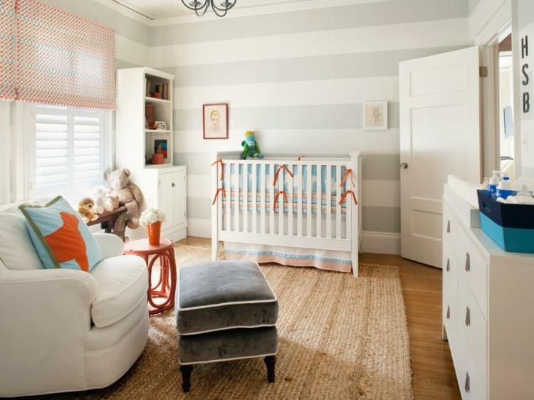 diseño habitacion bebe oso cojines fresca