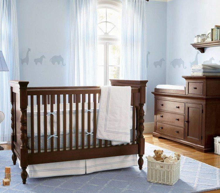 diseño habitacion bebe oso tradicional animales