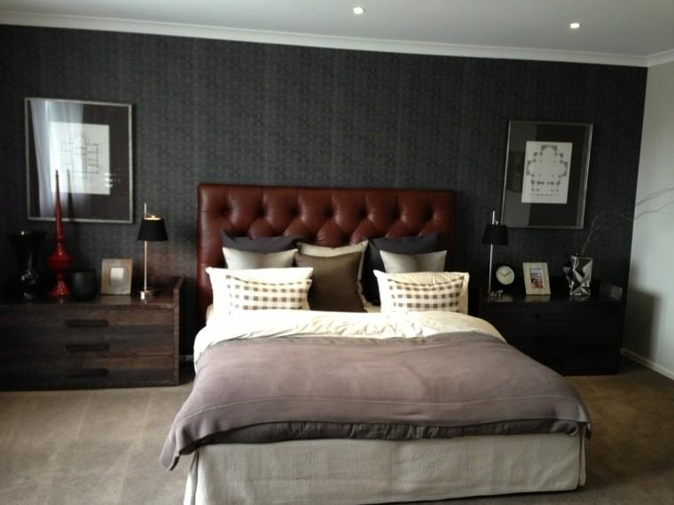 Dormitorios De Matrimonio De Colores Oscuros 50 Ideas