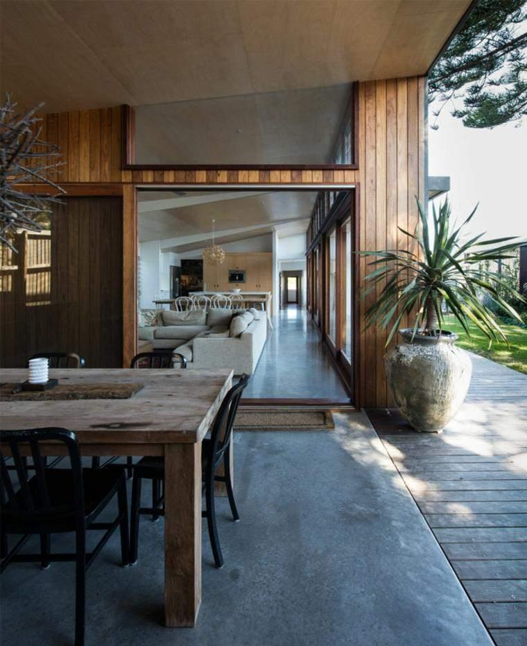 Cemento como tendencia de decoraci n para interiores for Casas de hormigon precios y fotos