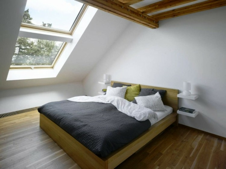 diseño madera decorado luces almohadas
