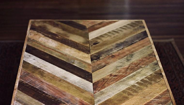 original diseño mesa palet madera