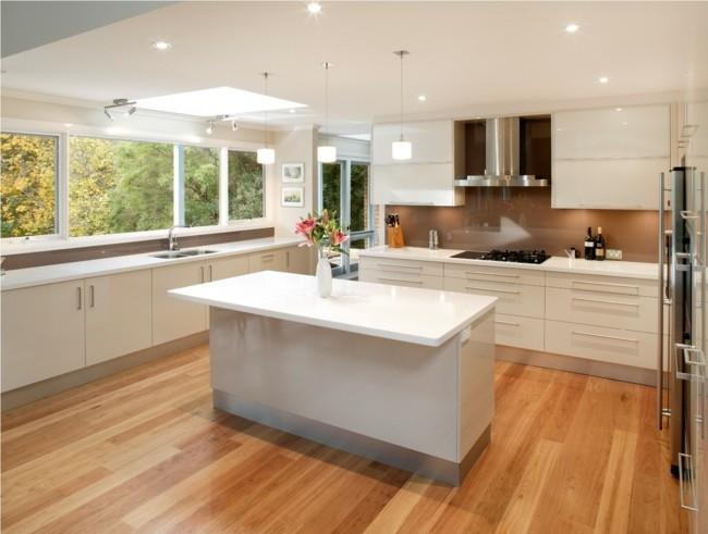 diseño moderno cocina toque retro