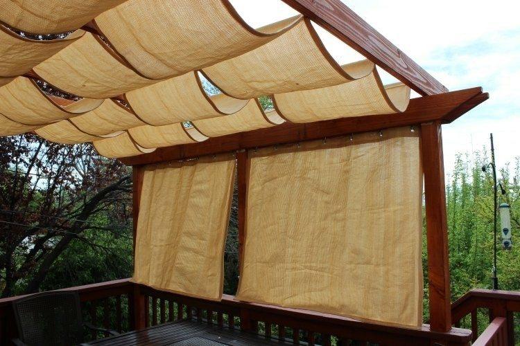 diseño pergola madera toldos papel