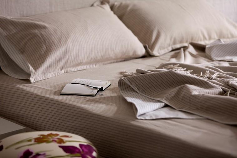 diseño ropa cama color beige
