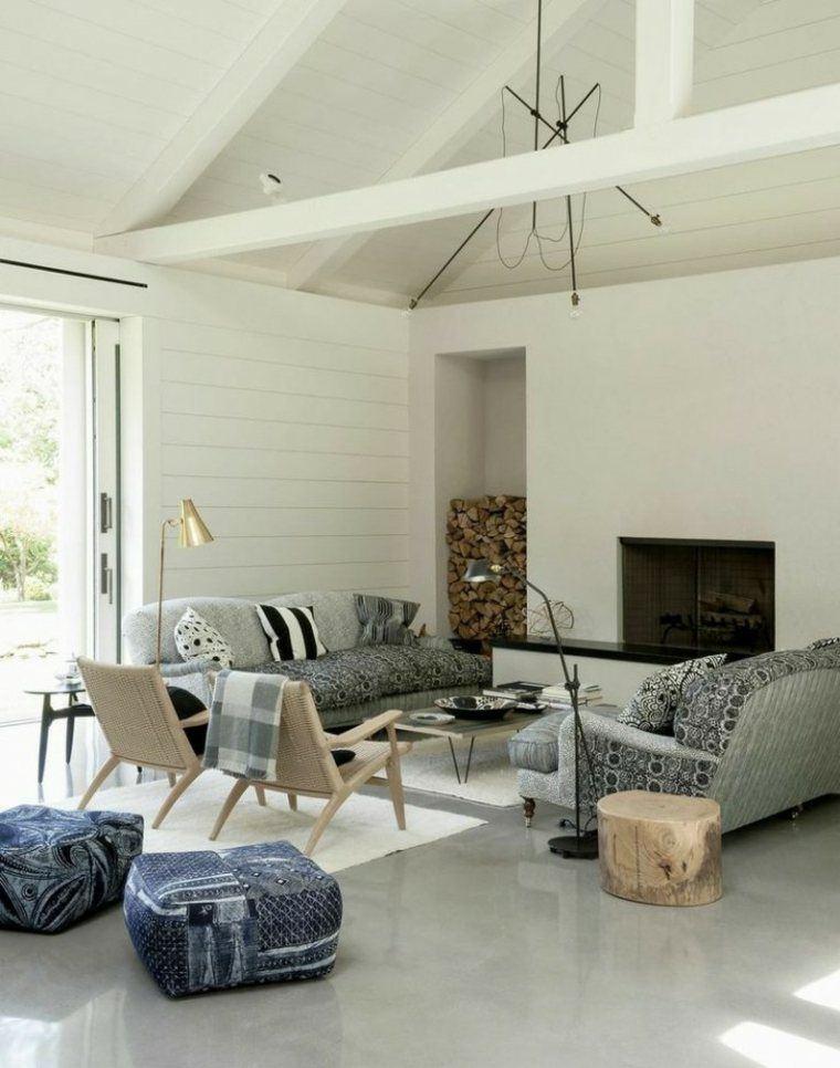diseño salon moderno estilo escandinavo