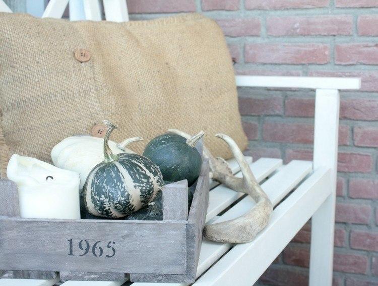 deco design old hemp sacks