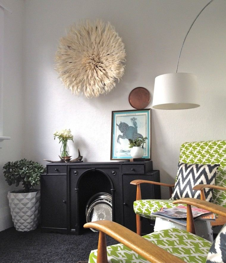 Plumas para decorar cincuenta ideas originales - Ideas originales para decorar ...