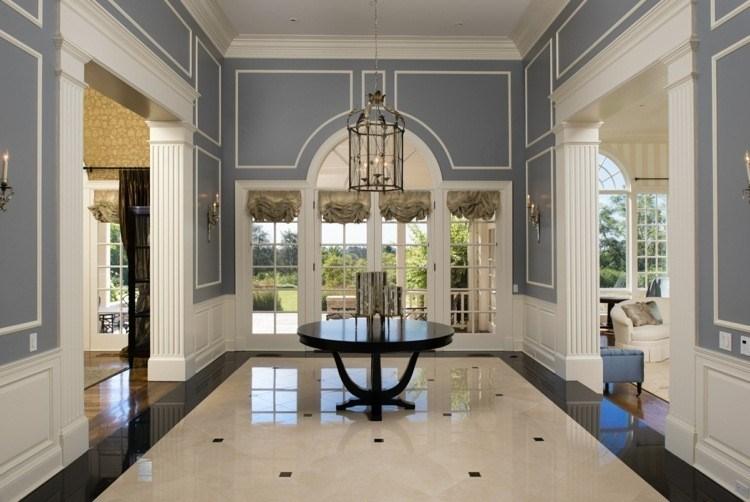 Entradas y recibidores con encanto 50 ideas para decorar - Recibidores de casas modernas ...