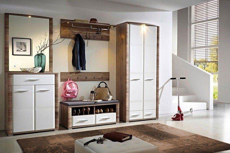 diseño recibidores modernos conjunto muebles