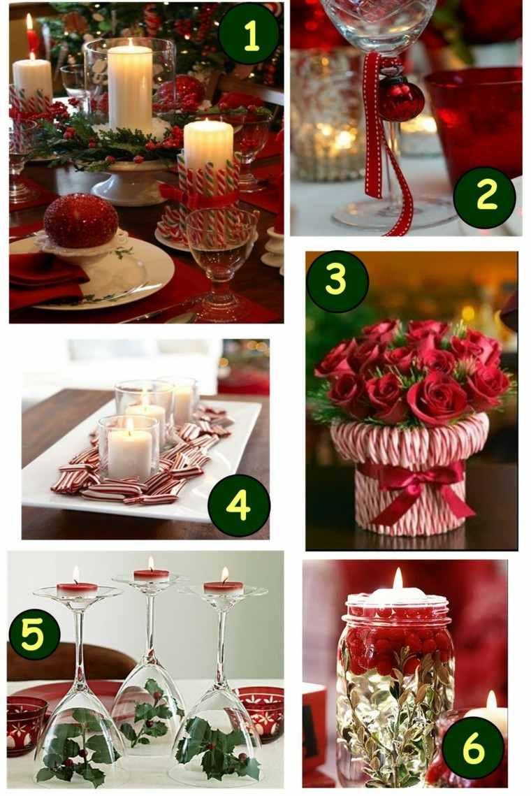 diseños collage adronos navideños