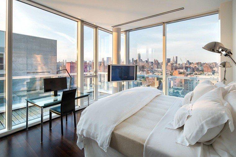 diseños habitaciones modernas vistas pequeñas