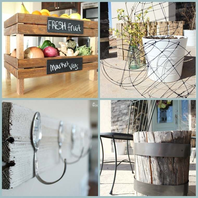 diseños originales muebles cajas frutas