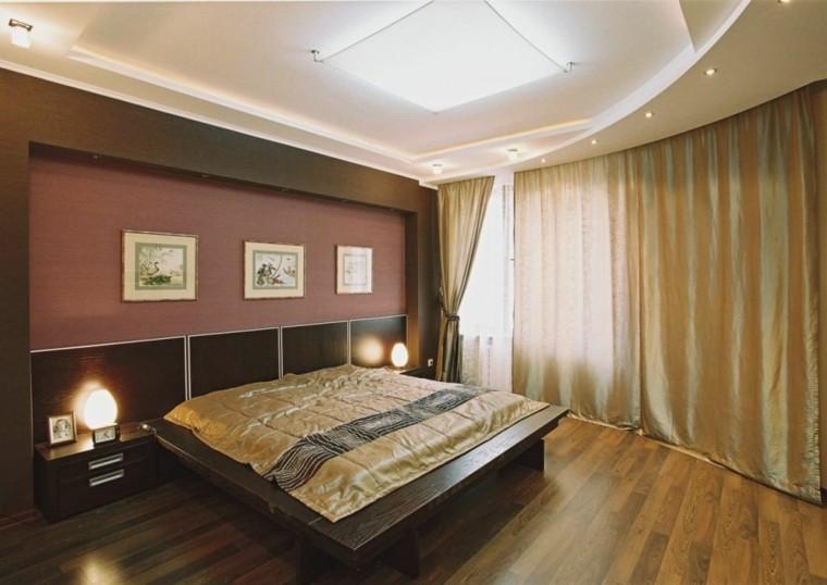 Falso techo de dise o moderno cincuenta modelos for Cielos falsos para dormitorios