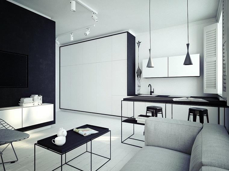 Diseño cocinas abiertas al salón prácticas y funcionales -