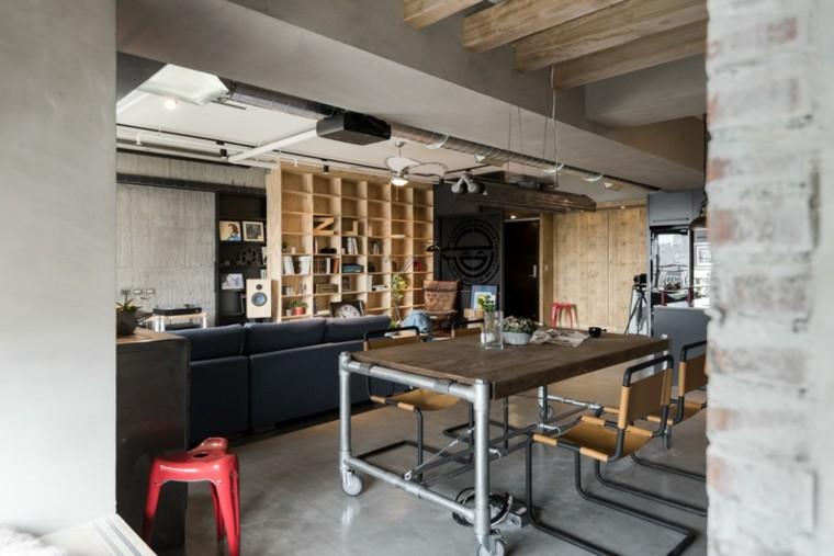 Decoracion rustica 50 ideas para interiores impresionantes - Decoracion con ruedas ...