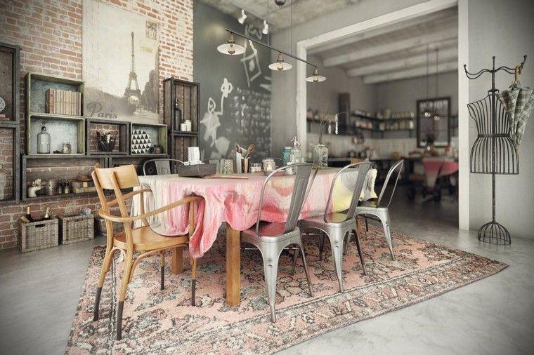 Decoracion rustica: 50 ideas para interiores impresionantes -