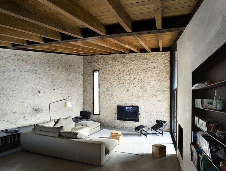 Decoracion rustica 50 ideas para interiores impresionantes for Rustico moderno