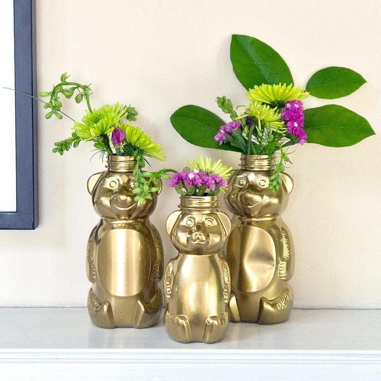 diy flores plantas osos flores