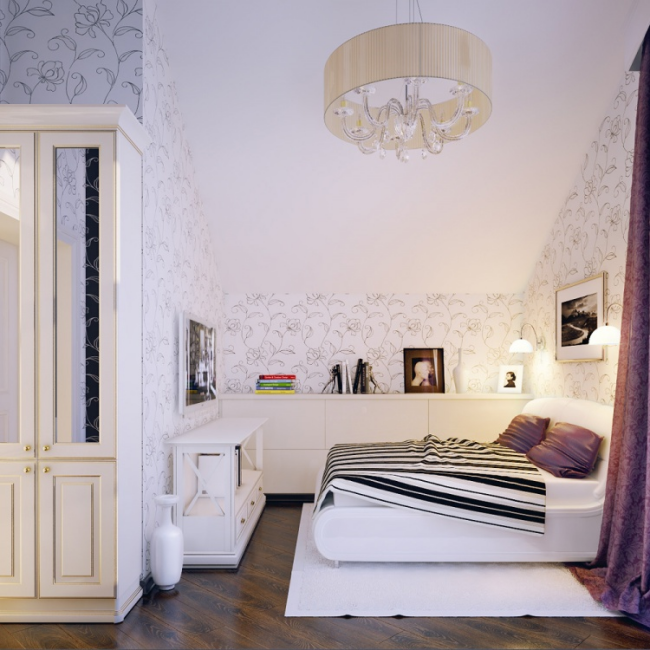 dormitorio juvenil estilo clasico lujoso