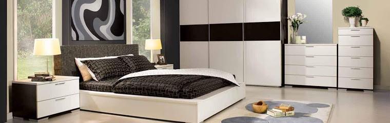 dormitorio moderno foto alargada muebles