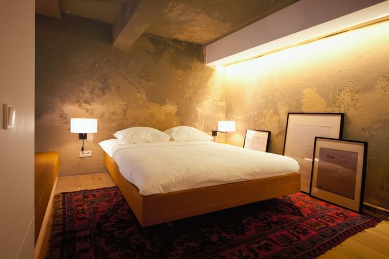 dormitorio moderno apartamento tipo loft