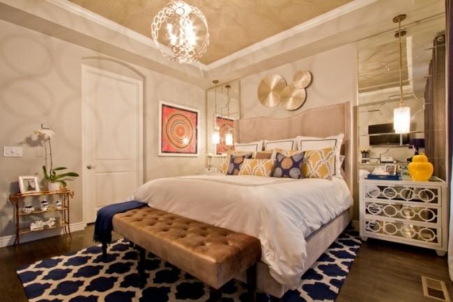 diseño dormitorio juvenil estilo lujoso