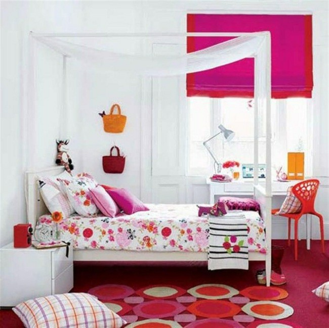 dormitorio juvenil estilo boho chic
