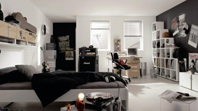 dormitorio juvenil fan musica