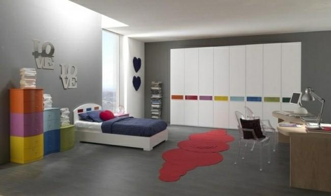 dormitorio color gris muebles colores