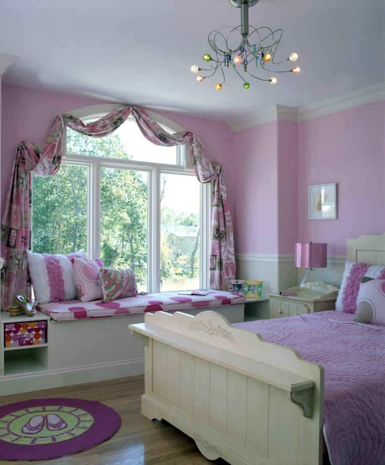 Bedroom Teenage Small Girls Room Purple Large Size: Cincuenta Ideas Geniales