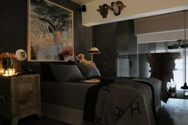 dormitorios de matrimonio ciervo cuadro
