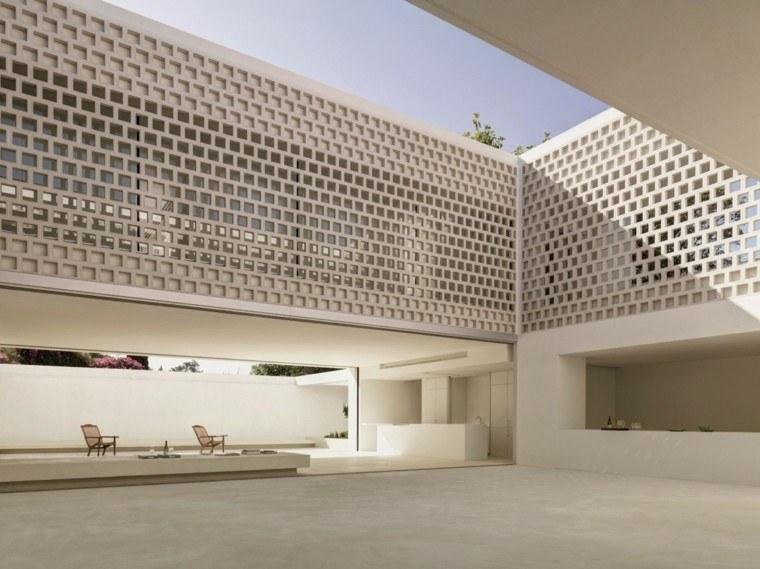 el refugio perfecto verano cocina exterior estilo minimalista ideas