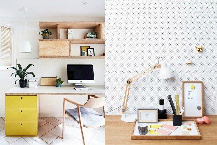 elegante madera practico estilo amarillo
