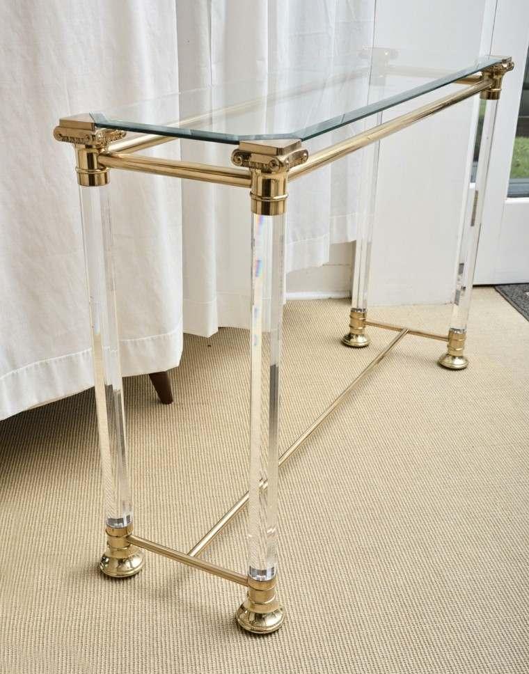 elegante vidrio clase alta dorado