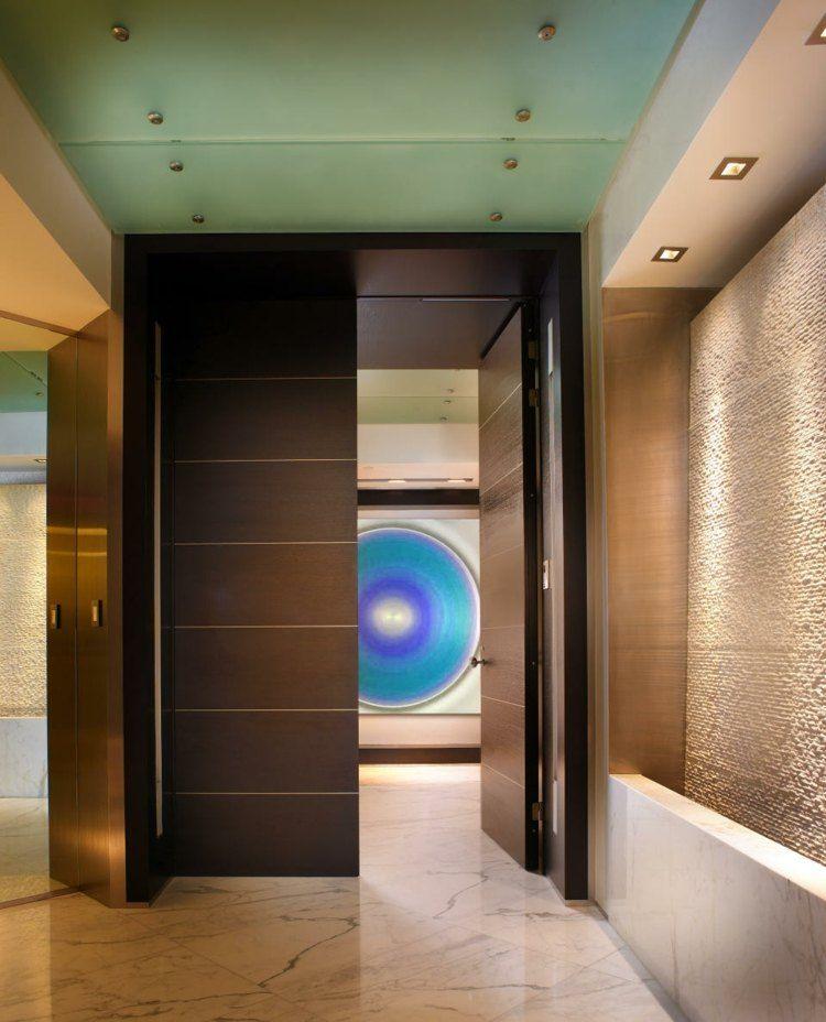 entrada moderna estilo contemporaneo