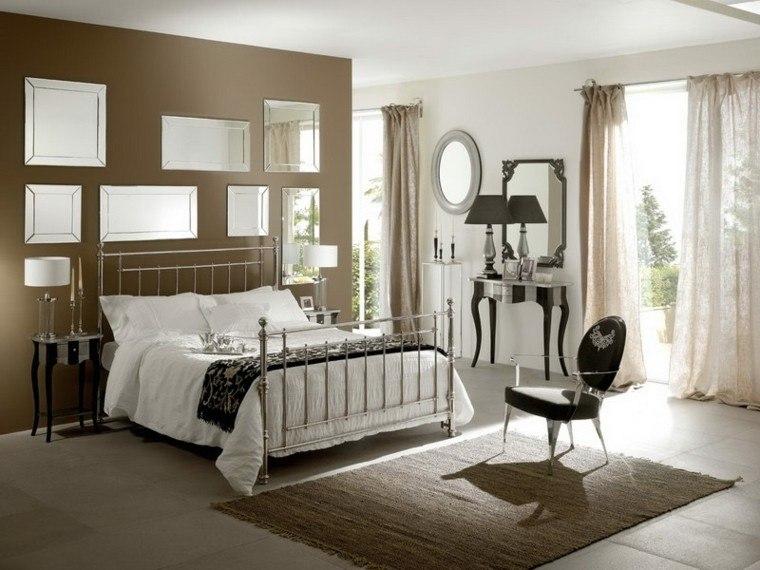espejos marron casa estilo alfombra