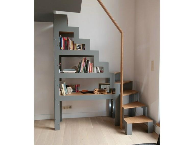estanteria escalera diseño moderno