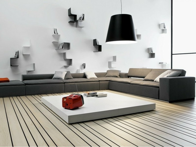 estilo dorado patio televisor madera