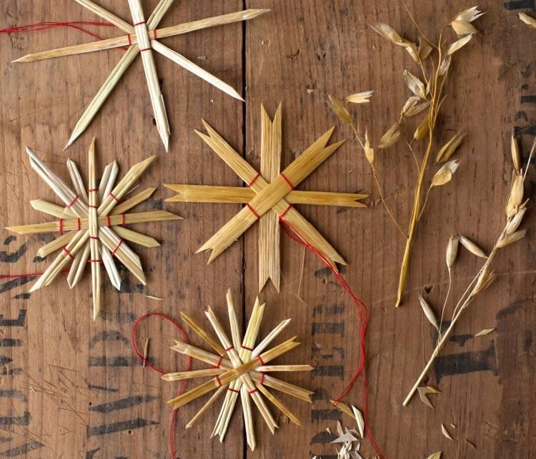 estilo escandinavo decoracion navidad estrellas preciosas ideas